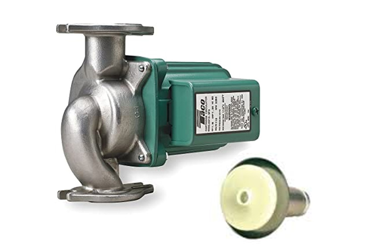 Taco (AC) Pump 1/8 HP Stainless Steel (Flanged)